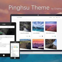 pinghsu:typecho图片主题,支持页面预加载与DNS预解析,速度极快。