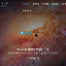 ZYI官网单页html引导页面源码