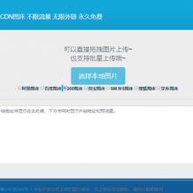 最新免费CDN图床8个接口源码